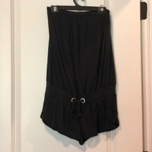 Victoria's Secret Romper Black